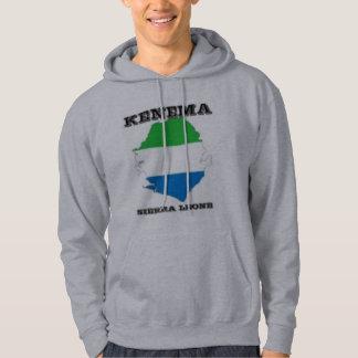 Sierra Leone, Map Hoodie (Kenema)