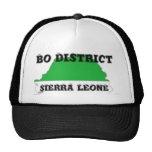 SIERRA LEONE,MAP, T-SHIRT AND ETC MESH HAT