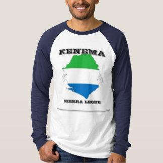 Sierra Leone, Map T-Shirt (Kenema)