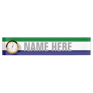 Sierra Leone Name Plates