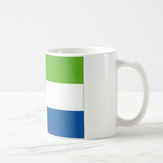Sierra Leone National Flag Coffee Mug