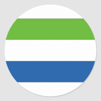 Sierra Leone National Flag Sticker