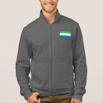 Sierra Leone Plain Flag Jacket