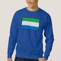 Sierra Leone Plain Flag Sweatshirt
