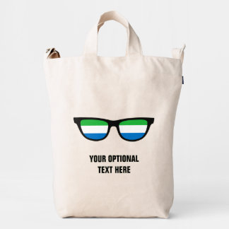Sierra Leone Shades custom bags
