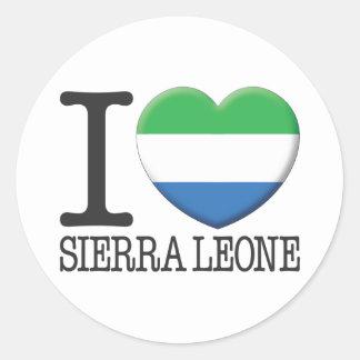 Sierra Leone Stickers