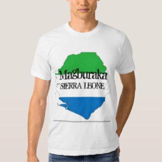 SIERRA LEONE  T-SHIRT AND ETC(magburaka)