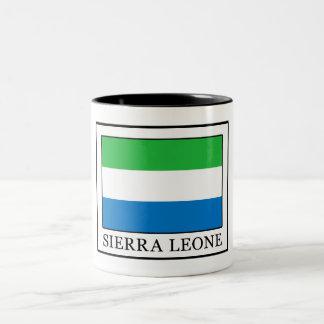 Sierra Leone Two-Tone Coffee Mug