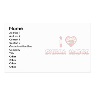 Sierra Madre, CA Business Card