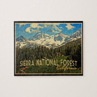 Sierra National Forest California Jigsaw Puzzles