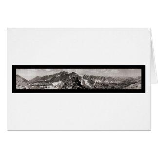 Sierra Nevada Backbone Photo 1911 Greeting Card