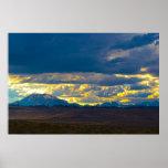 Sierra Nevada del este HDR Póster