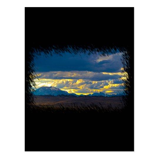 Sierra Nevada HDR Postcard