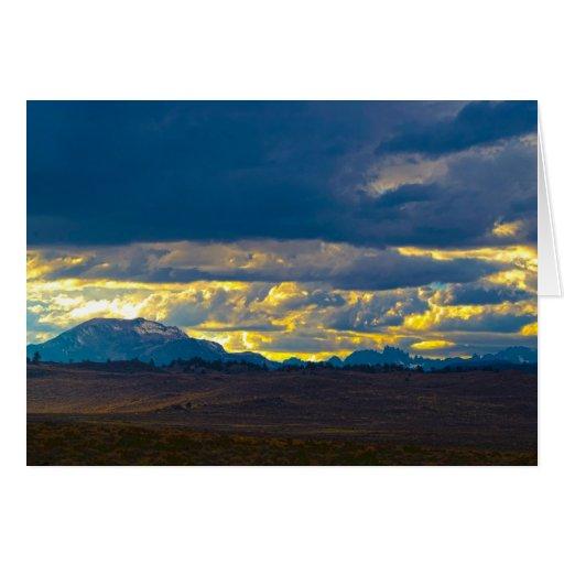 Sierra Nevada HDR Tarjeta De Felicitación