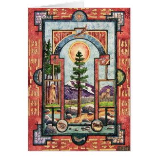 Sierra Nevada Illuminated Card