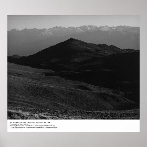 Sierra Nevada, junio de 1964 por Ansel Adams Impresiones