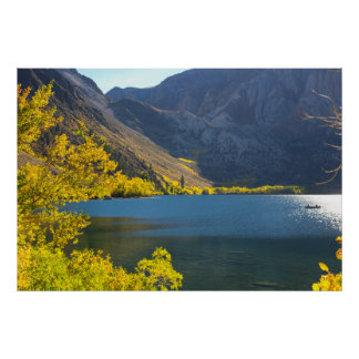 Sierra Nevada Lake in the Fall Poster