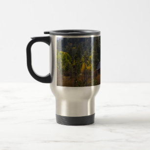 Sierra Nevada Mountain Cabin Travel Mug