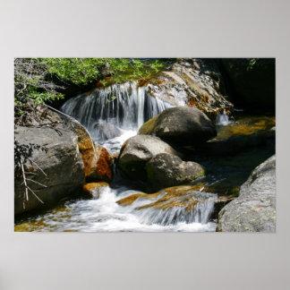 Sierra Nevada Mountain Creek Poster