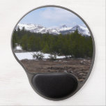 Sierra Nevada Mountains and Snow at Yosemite Gel Mouse Pad