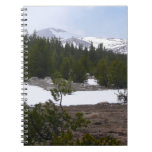Sierra Nevada Mountains and Snow at Yosemite Notebook
