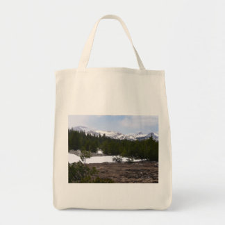 Sierra Nevada Mountains and Snow Yosemite Park Tote Bag