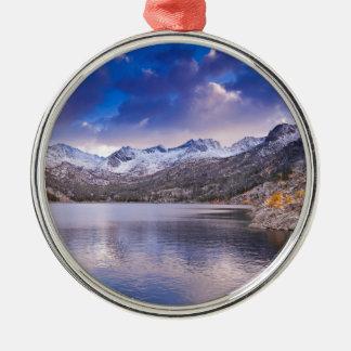 Sierra Nevada Mountains, Autumn, CA Metal Ornament