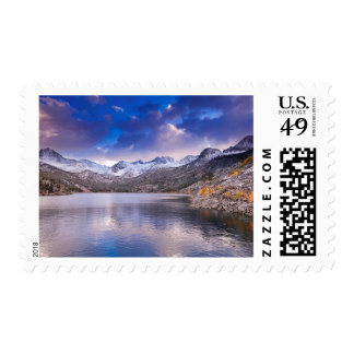Sierra Nevada Mountains, Autumn, CA Postage
