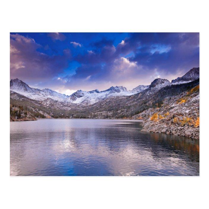 Sierra Nevada Mountains Autumn Ca Postcard Zazzle Com
