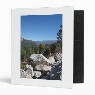 Sierra Nevada Mountains Binder