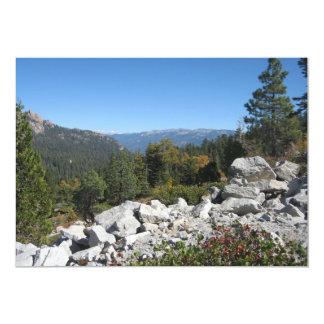 Sierra Nevada Mountains Card