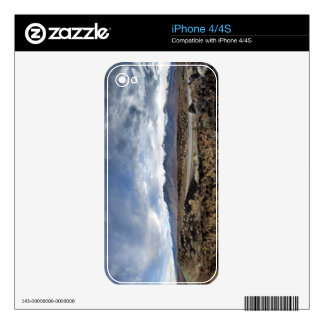 Sierra Nevada Mountains from Owens Valley Decal For The iPhone 4