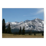 Sierra Nevada Mountains I from Yosemite Card