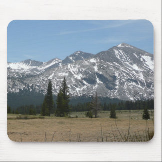 Sierra Nevada Mountains I from Yosemite Mouse Pad