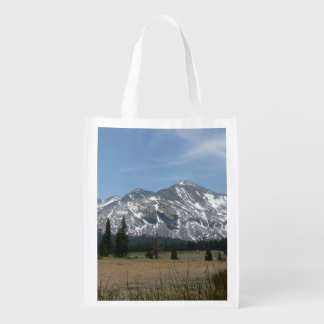 Sierra Nevada Mountains I Reusable Grocery Bag