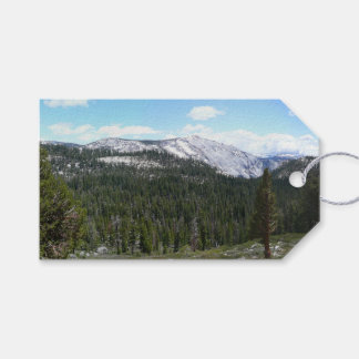 Sierra Nevada Mountains II from Yosemite Gift Tags