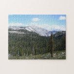 Sierra Nevada Mountains II from Yosemite Jigsaw Puzzle
