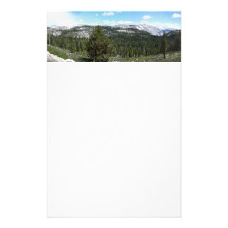 Sierra Nevada Mountains II from Yosemite Stationery