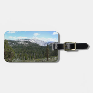 Sierra Nevada Mountains II Yosemite National Park Travel Bag Tag
