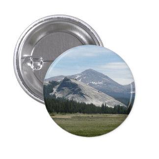Sierra Nevada Mountains III Yosemite National Park 1 Inch Round Button
