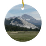 Sierra Nevada Mountains III Yosemite National Park Ceramic Ornament