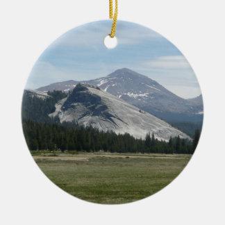 Sierra Nevada Mountains III Yosemite National Park Ceramic Ornament
