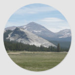 Sierra Nevada Mountains III Yosemite National Park Classic Round Sticker