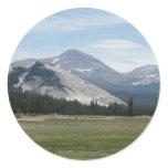 Sierra Nevada Mountains III Yosemite National Park Classic Round Sticker