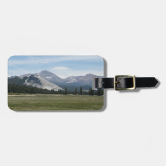 Sierra Nevada Mountains III Yosemite National Park Tag For Bags