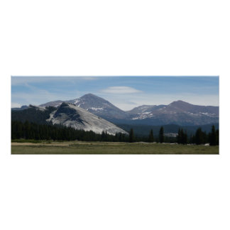 Sierra Nevada Mountains III Yosemite National Park Poster