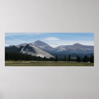 Sierra Nevada Mountains III Yosemite National Park Poster