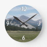 Sierra Nevada Mountains III Yosemite National Park Round Clock