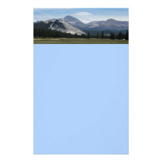 Sierra Nevada Mountains III Yosemite National Park Stationery