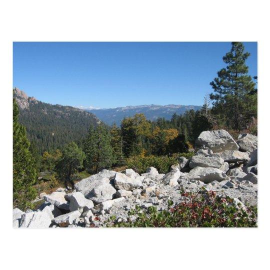 Sierra Nevada Mountains Postcard